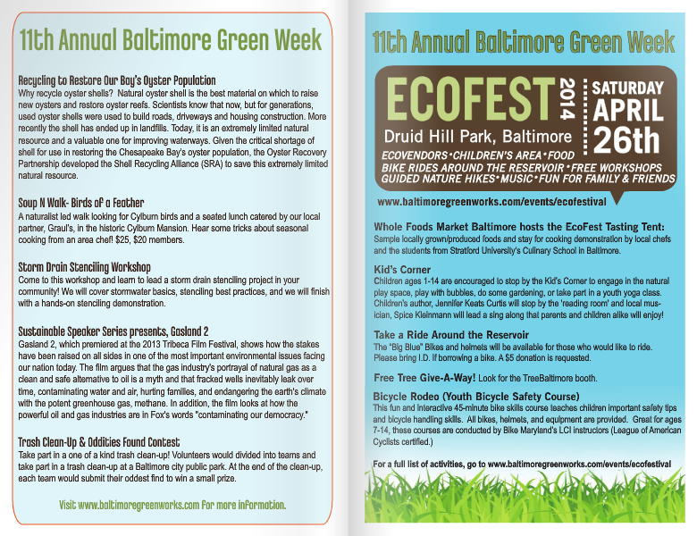 Baltimore Green Week 2014